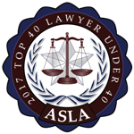 Top 40 Lawyer Under 40 2017 - American Society of Legal Advocates
