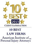 10 Best Law Firms PI 2015